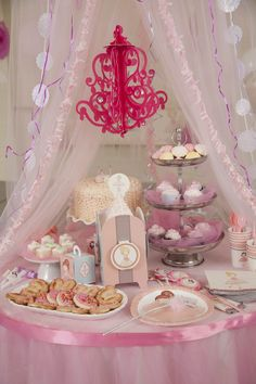 Ballerina Tutu Centerpiece Birthday Party Decoration  #Girls #Birthday #BirthdayExpress
