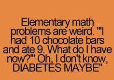 So true, math problems make no sense