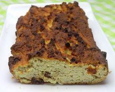 Gâteau aux amandes, à la farine de coco et à la banane sans gluten et sans lactose