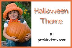 Halloween Preschool Activities... So many neat things on here. love it!!