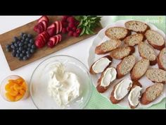 Bruschetta z owocami - Allrecipes.pl
