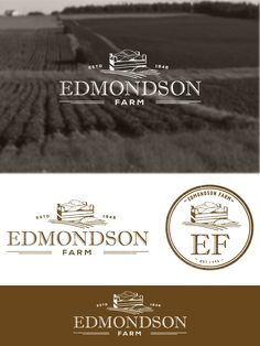 Create the next logo for Edmondson Farm Logo design #75 by Thebluestrawberry