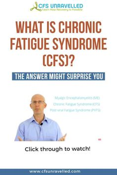 YouTube Video explaining What Chronic Fatigue Syndrome (CFS) is.