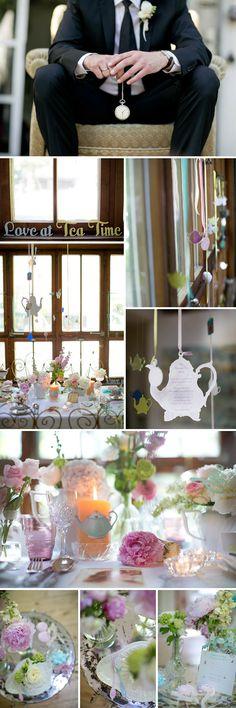Teeparty Inspirationen vom Hochzeitsworkshop bei Carmen und Ingo Photography, Die exklusiven Einladungskarten, Doreen Winking Weddings. u.v.a.