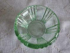 Sola, grønn skål fra Hadeland, design Sverre Pettersen - Selges av dirut3 fra Tårnåsen på QXL.no