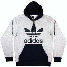 Adidas 3 strisce adidas cappuccio nero ci namebrand maglioni