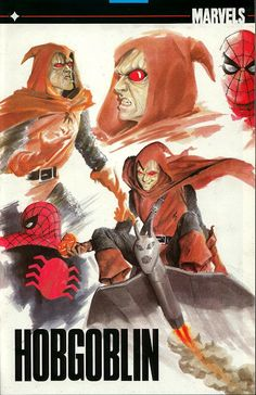 Hobgoblin pinup page painted by Alex Ross from Marvels #0 (Aug '94)