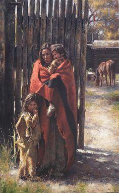 Trappers Family  Don Oelze  kK