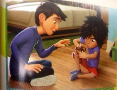 Iiii have a feeling I'm gonna cry during this movie... Big Hero 6