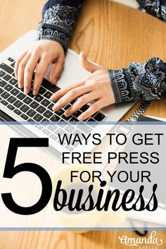 It's easier than ever for small business owners and bloggers to get free press for their business. Use these 5 steps to get your business featured in the media for free. http://www.amandaabella.com/podcast4/