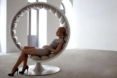 Hug Chair by Gabriella Asztalos. Photo by Asztalos Design.