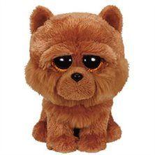 Beanie Boos Small -Barley the Brown Chow Dog