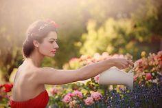 Sohemi_art / Kvetinová čelenka z kolekcie Italian charm