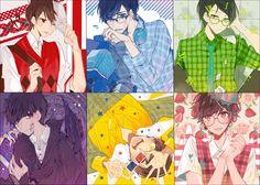 Read Osomatsu san fanart from the story [SƯU TẦM] Anime Art by Convalaria (Linh Lan) with 332 reads. Pixiv ID: 13833265 Anime Love, Dark Anime Guys, Cute Anime Pics, Kawaii Anime, Manga Anime, Anime Art, Osomatsu San Doujinshi, Gekkan Shoujo Nozaki Kun, Fanart
