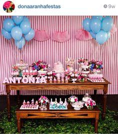 Bailarina party- instagran