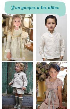 vestidos niño niña boda