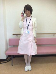 小林麻耶 Sexy Nurse, Asian Beauty, Slip On, Shirt Dress, Coat, Jackets, Shirts, Nurses, Dresses