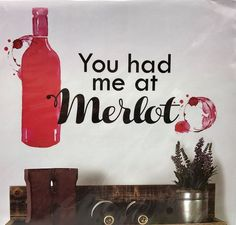 Wine Wall Decals Peel And Stick Wall Decals Accent Decorative - keywebco - 1