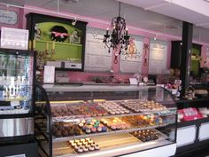 One day I would LOVE to open up a cupcake shop and have it look all cute like this one. :)