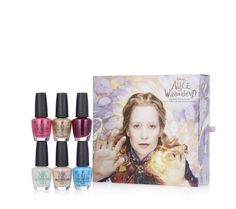 217088 - OPI Piece Alice Through the Looking Glass Nail Collection - QVC Price: £36.50  Feature Price: £29.88 + P&P: £0.00   or 2 Easy Pays of £14.94 +P&P