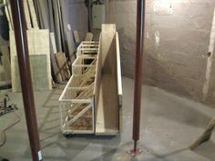 Scrap rack - by PirateOfCatan @ LumberJocks.com ~ woodworking community