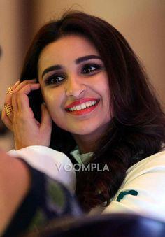 A close-up shot of Parineeti Chopra's beautiful smile! via Voompla.com