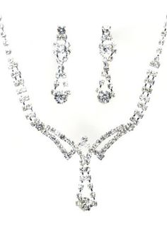 Bold and Fiery New Jewelry Set - Bridal Formal Prom: Silver with Imported Crystal / Rhinestone Crystal Avenue, http://www.amazon.com/dp/B008ELIW5C/ref=cm_sw_r_pi_dp_.lf1qb1K7RN80