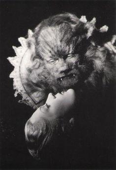 Jean Marais as La Bete in Jean Cocteau's Beauty and the Beast (1946)