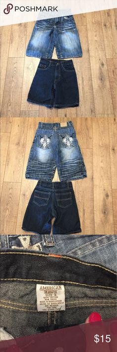 Two for One Boys Shorts Jean Shorts🐢 Bottoms Shorts
