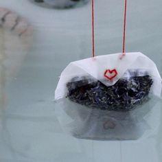 Soak stress away with this bathtub tea bag recipe
