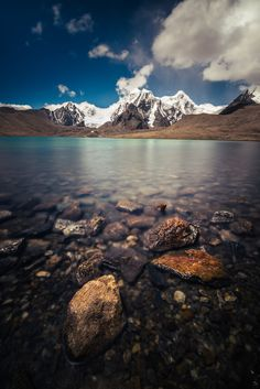 Gurudongmar Lake II by Dibya Ranjan on 500px )