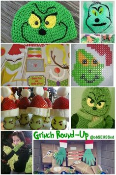 #Grinch Craft/Activity Round-up @obSEUSSed #Christmas #party ideas