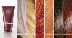 Wella Professionals Color Recharge Shades.