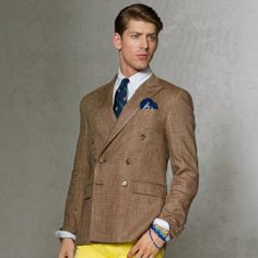 Double-Breasted Sport Coat