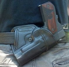 Posts about Gun holsters written by Thanh N. 1911 Holster, Pistol Holster, Custom Leather Holsters, Concealed Carry Holsters, Leather Projects, Firearms, Shotguns, Leather Tooling, Hand Guns