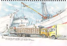 Urban Sketchers: Dhar Cedhar
