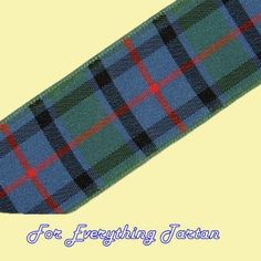 Flower of Scotland Tartan Polyester Ribbon 25mm