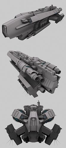 Achilles Battle Cruiser wip2 by ulyses