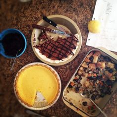 about a million pie recipes.