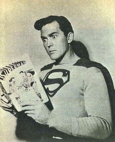 "Kirk Alyn como ""Superman"", 1948"
