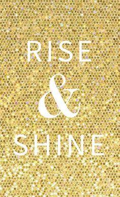 Rise & Shine. #levoinspired quotes via www.levo.com