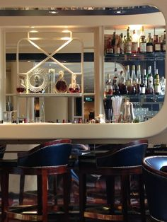 American Bar at The Savoy, one of our top five hotel bars in town.