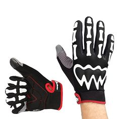 OutdoorMaster Half Finger/Full Finger Breathable Cycling Gloves Bike Gloves Bicycle Gloves Biking Gloves for Men/Women with Shock-absorbing Gel Pad (Full Finger, Black, XL) Find out more about the great product at the image link.