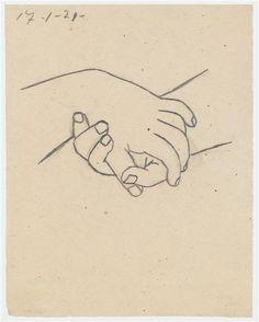Deux mains croisées, Picasso Pablo, Réunion des Musées Nationaux-Grand Palais -
