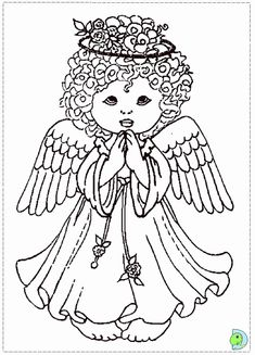 christmas coloring pages of angels coloring pages for all ages