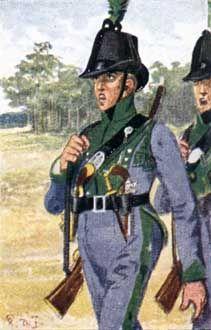 Historine: Le corps franc de Lutzow (1)