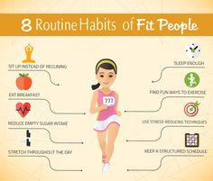 8 Routine Habits of Fit People | Fitness Republic