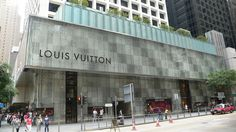 Louis Vuitton in 尖沙咀, Kowloon City Facade Pattern, Vertical City, Sandblasted Glass, British Colonial, Architect Design, Lighthouse, Hong Kong, Backdrops, Street View