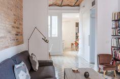 Remodelled Apartment in Barcelona with Brick Barrel Vault Ceiling | iDesignArch | Interior Design, Architecture & Interior Decorating eMagazine