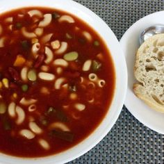 Minestrone Soup (Lower-Sodium) | the 3volution of j3nn & the art of voluntary living